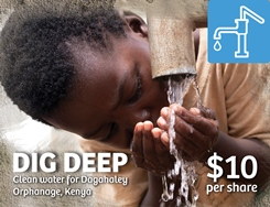 WAT - Dig Deep for Kenya Orphanage