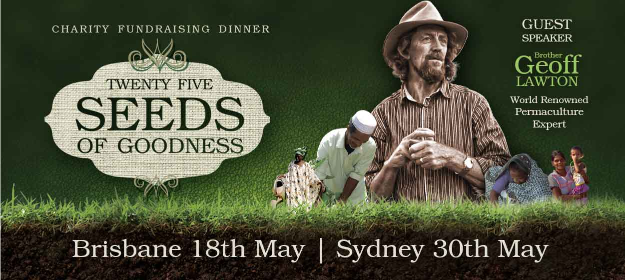 Brisbane Fundraiser - 25 Seeds of Goodness