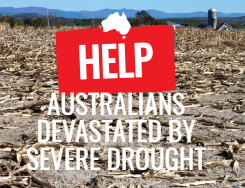 Help Australians Devastated by Severe Drought