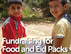 RMN - Eid Gifts and Food Packs for Refugees