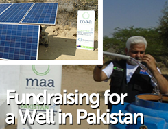 WAT - Fundraising for Well in Pakistan