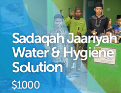 WAT - Sadaqah Jaariyah Water & Hygiene Solution
