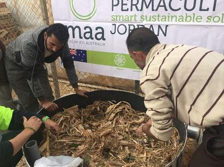 MAA Launches Permaculture Project for Syrian Refugees in Zaatari Refugee Camp